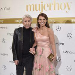 José Sacristán y Paula Echevarría en los Premios Mujer Hoy 2016