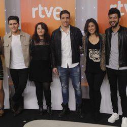 Los seis aspirantes a representar a España en el Festival de Eurovisión 2016
