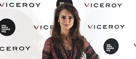 Penélope Cruz en la presentación del documental 'Soy uno entre cien mil'