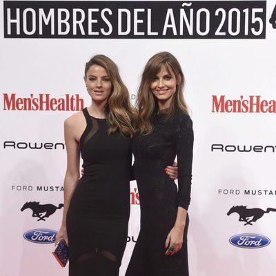 Aída y Ariadne Artiles en los Premios Men's Health 2015