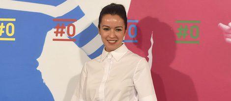 Verónica Sánchez en la presentación del canal #0
