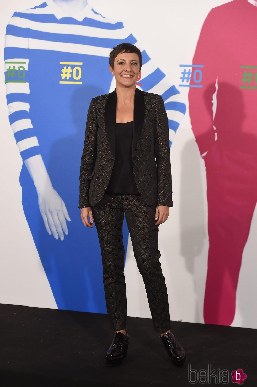 Eva Hache en la presentación del canal #0