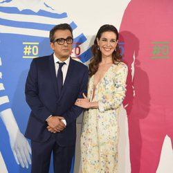 Andreu Buenafuente y Raquel Sánchez Silva en la presentación del canal #0