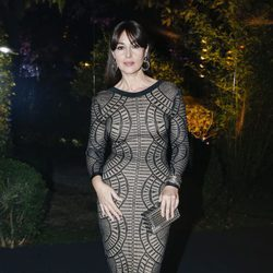 Monica Bellucci en una fiesta de la Alta Costura de París primavera/verano 2016