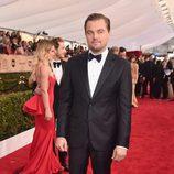 Leonardo DiCaprio en la alfombra roja de los SAG 2016