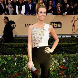Kristen Wiig en la alfombra roja de los SAG 2016