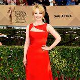 Melissa Rauch en la alfombra roja de los SAG 2016