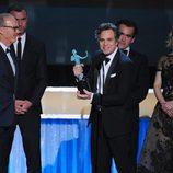 Mark Ruffalo recoge el galardón para 'Spotlight' en los SAG 2016