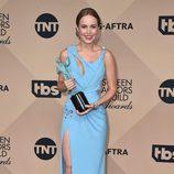 Brie Larson con su Premio del Sindicato de Actores 2016