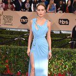 Brie Larson en la alfombra roja de los SAG 2016