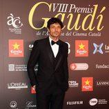 El modelo Andrés Velencoso en los Premios Gaudí 2016