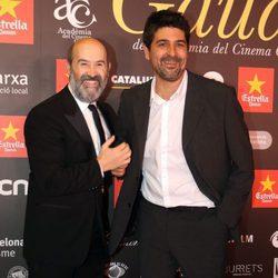Javier Cámara y Cesc Gay en los Premios Gaudí 2016