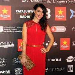 Cristina Brondo en los Premios Gaudí 2016