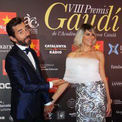 Santi Millán y Rosa Olucha en los Premios Gaudí 2016