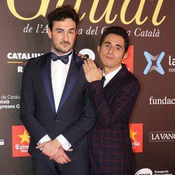 Miki Esparbé y Berto Romero en los Premios Gaudí 2016