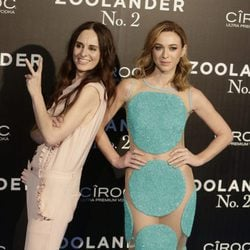 Marta Hazas con Ana Locking en la premiere en Madrid de 'Zoolander 2'