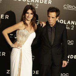 Penélope Cruz y Ben Stiller en la premiere en Madrid de 'Zoolander 2'