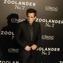 Ben Stiller en la premiere en Madrid de 'Zoolander 2'
