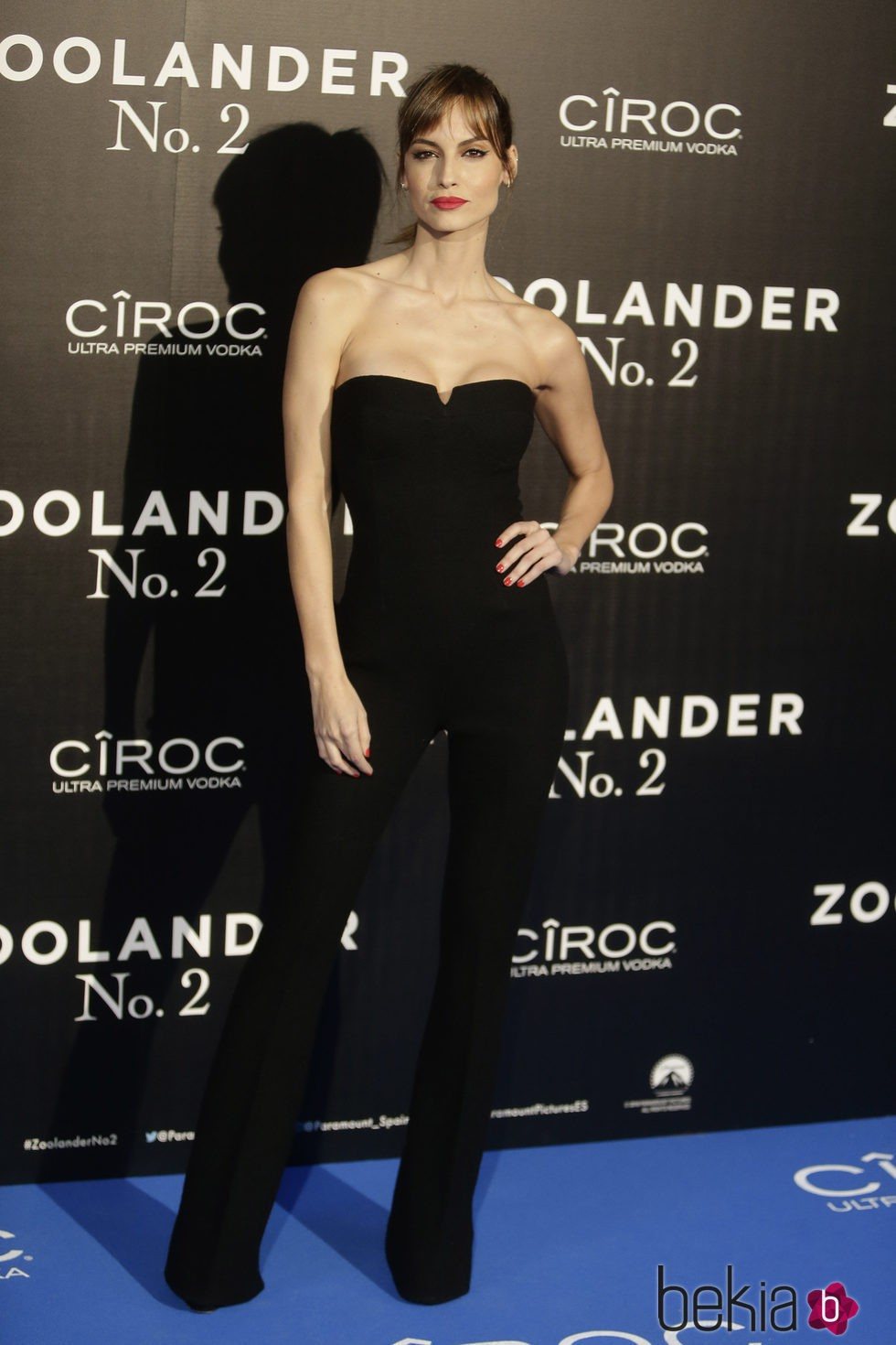 Ariande Artiles en la premiere en Madrid de 'Zoolander 2'