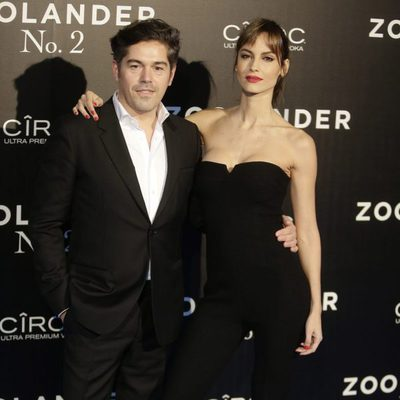 Ariande Artiles y Jorge Vázquez en la premiere en Madrid de 'Zoolander 2'