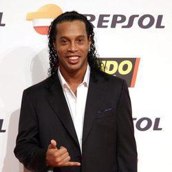 Ronaldinho en la gala de Mundo Deportivo 2016