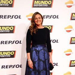 Melani Costa en la gala de Mundo Deportivo 2016