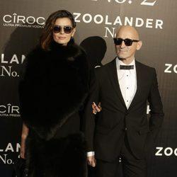 María Reyes y Modesto Lomba en la premiere en Madrid de 'Zoolander 2'
