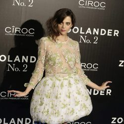 Macarena Gómez en la premiere en Madrid de 'Zoolander 2'