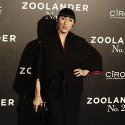 Rossy de Palma en la premiere en Madrid de 'Zoolander 2'