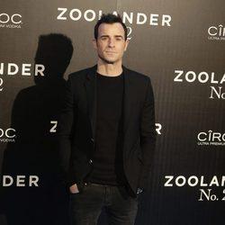 Justin Theroux en la premiere en Madrid de 'Zoolander 2'