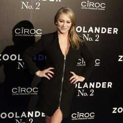 Christine Taylor en la premiere en Madrid de 'Zoolander 2