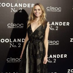 Verónica Blume en la premiere en Madrid de 'Zoolander 2'