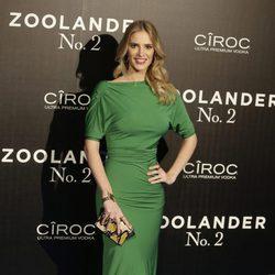 Teresa Baca en la premiere en Madrid de 'Zoolander 2'