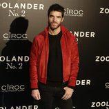 Alfonso Bassave en la premiere en Madrid de 'Zoolander 2'