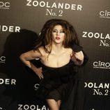 Pepa Charro en la premiere en Madrid de 'Zoolander 2