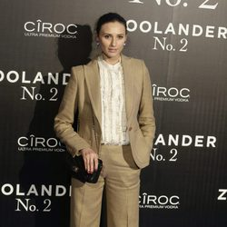Mayte de la Iglesia en la premiere en Madrid de 'Zoolander 2'