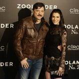 Carlos Bardem y Cecilia Gessa en la premiere en Madrid de 'Zoolander 2'