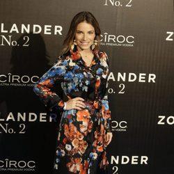 Flora González en la premiere en Madrid de 'Zoolander 2'