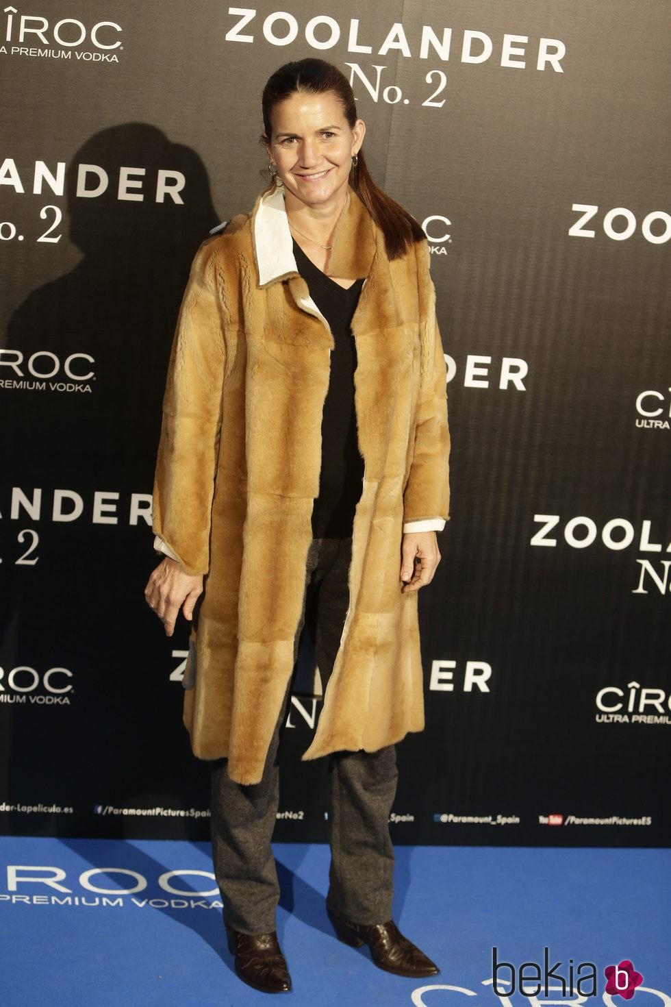 Samatha Vallejo-Nágera en la premiere en Madrid de 'Zoolander 2'