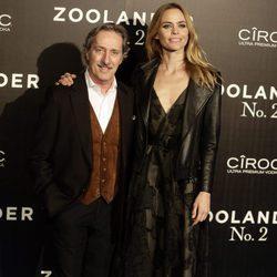 Verónica Blume y Roberto Torretta en la premiere en Madrid de 'Zoolander 2'