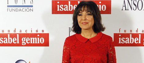 Isabel Gemio en la subasta benéfica 'Artistas con Duende'