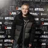 Jordi Rebellón en el estreno de 'Reverso'