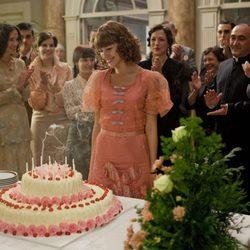 Úrsula Corberó como Beatriz en '14 de abril. La República'