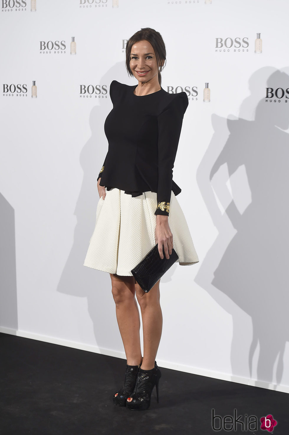 Cecilia Gómez en la fiesta de 'Boss Bottled' de Hugo Boss en Madrid
