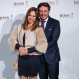Juan Peña y Sonia González en la fiesta de 'Boss Bottled' de Hugo Boss en Madrid
