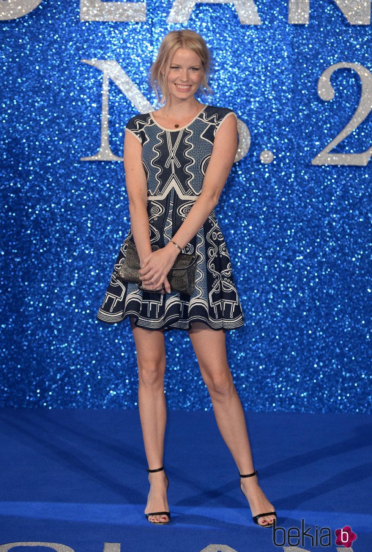 Karolina Kurkova en el estreno de 'Zoolander 2' en Londres