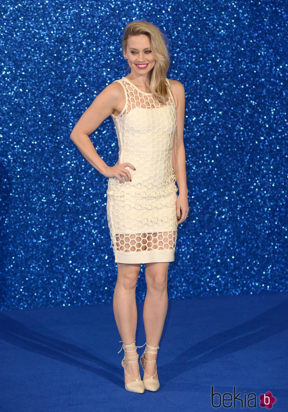 Kimberly Wyatt en el estreno de 'Zoolander 2' en Londres