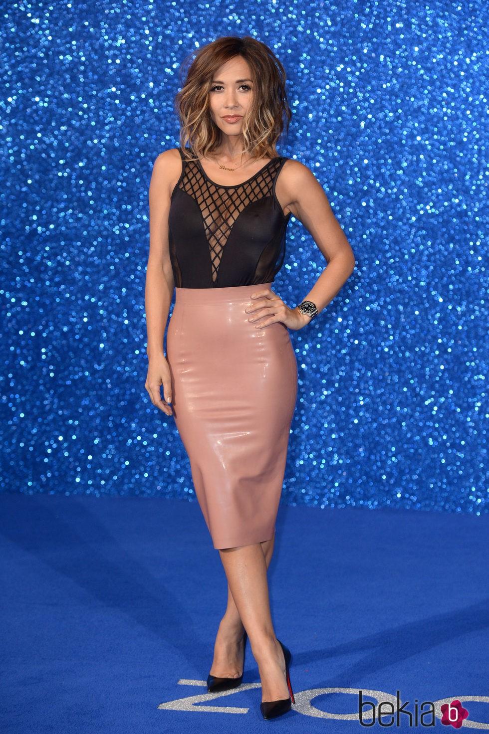 Mylene Klass en el estreno de 'Zoolander 2' en Londres