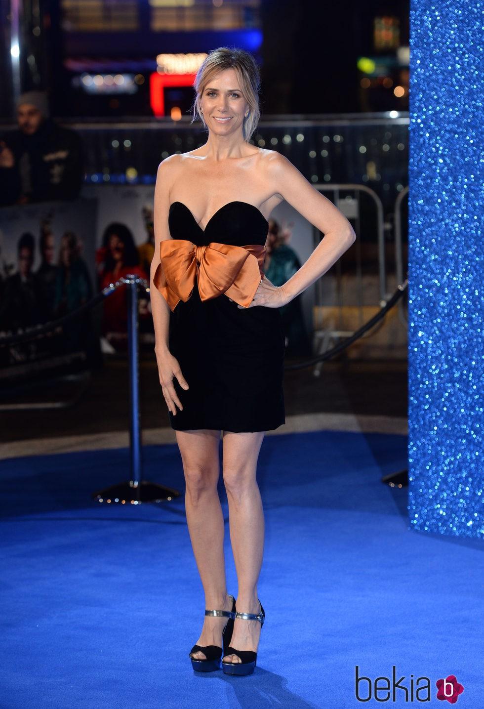 Kristen Wiig en el estreno de 'Zoolander 2' en Londres