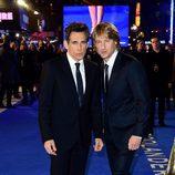 Ben Stiller y Owen Wilson en el estreno de 'Zoolander 2' en Londres